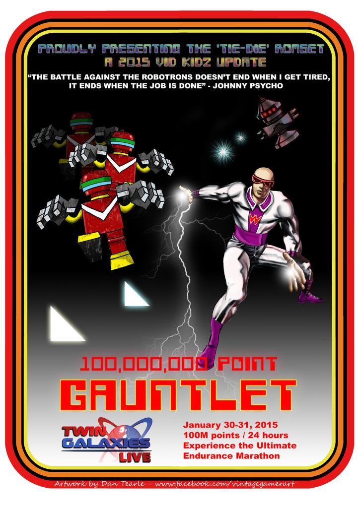 Robotron Gauntlet TGL 2015
