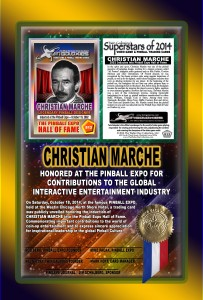 PINBALL-EXPO-2014-AWARDS-CHRISTIAN-MARCHE-RIBBON