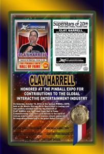 PINBALL-EXPO-2014-AWARDS-CLAY-HARRELL-RIBBON