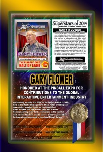 PINBALL-EXPO-2014-AWARDS-GARY-FLOWER-RIBBON