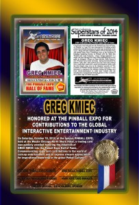 PINBALL-EXPO-2014-AWARDS-GREG-KMIEC-HOF-RIBBON