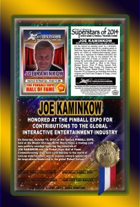 PINBALL-EXPO-2014-AWARDS-JOE-KAMINKOW-HOF-RIBBON