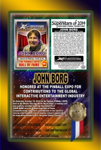 PINBALL-EXPO-2014-AWARDS-JOHN-BORG-HOF-RIBBON