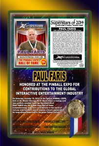 PINBALL-EXPO-2014-AWARDS-PAUL-FARIS-RIBBON