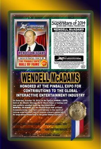 PINBALL-EXPO-2014-AWARDS-WENDELL-MCADAMS-HOF-RIBBON